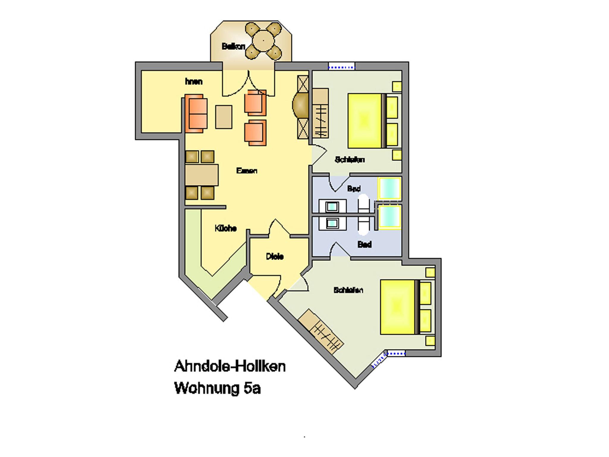 exklusive, strandnahe Ferienwohnung mit 5 DTV Sternen und Sauna/Fittnessraum,Kinderspielplatz Nr. 5a