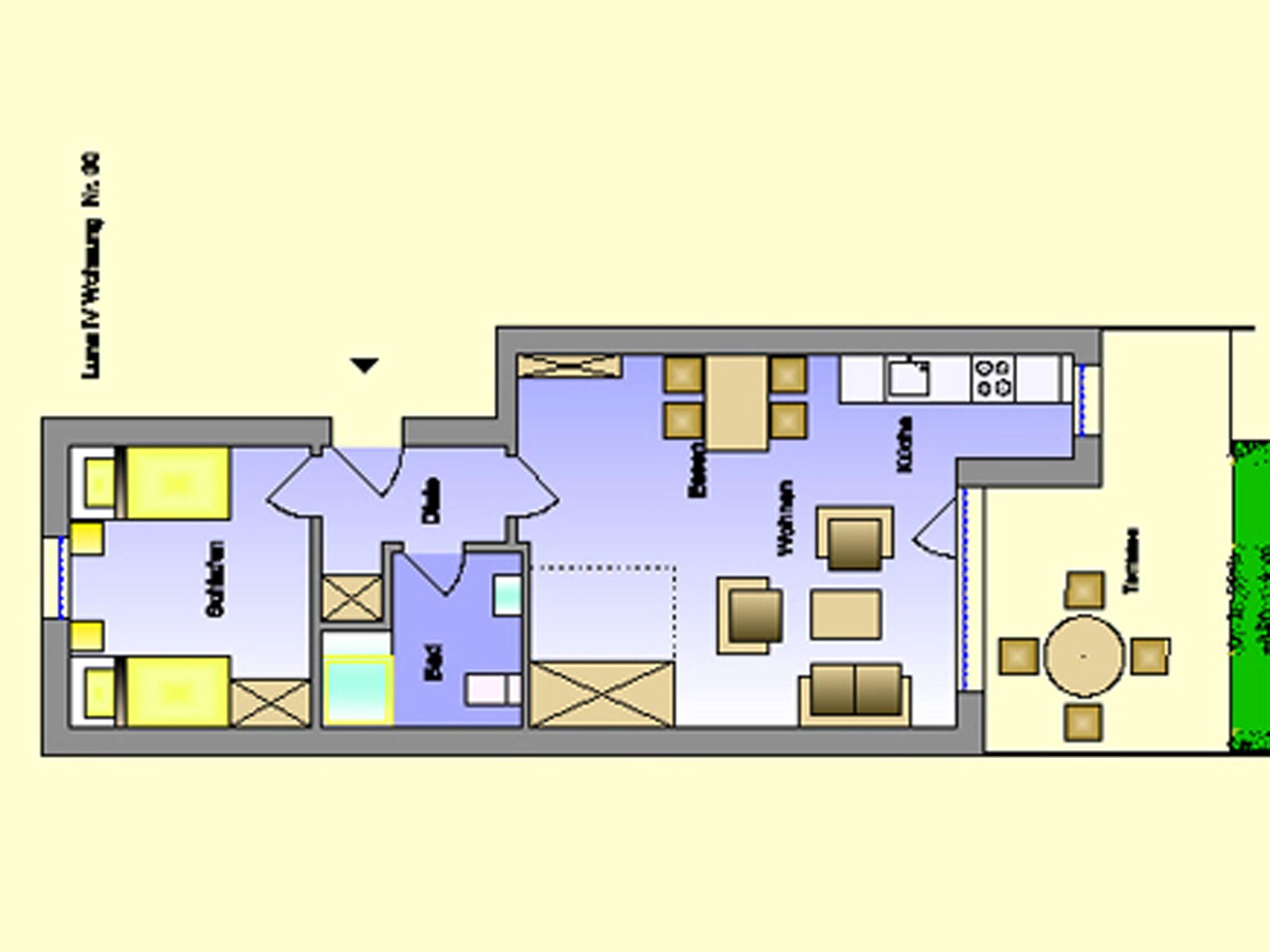 Ferienappartement in St. Peter-Ording für 2-4 Personen mit Westterrasse , strandnah, ruhig, privat. Luna IV Nr. 30