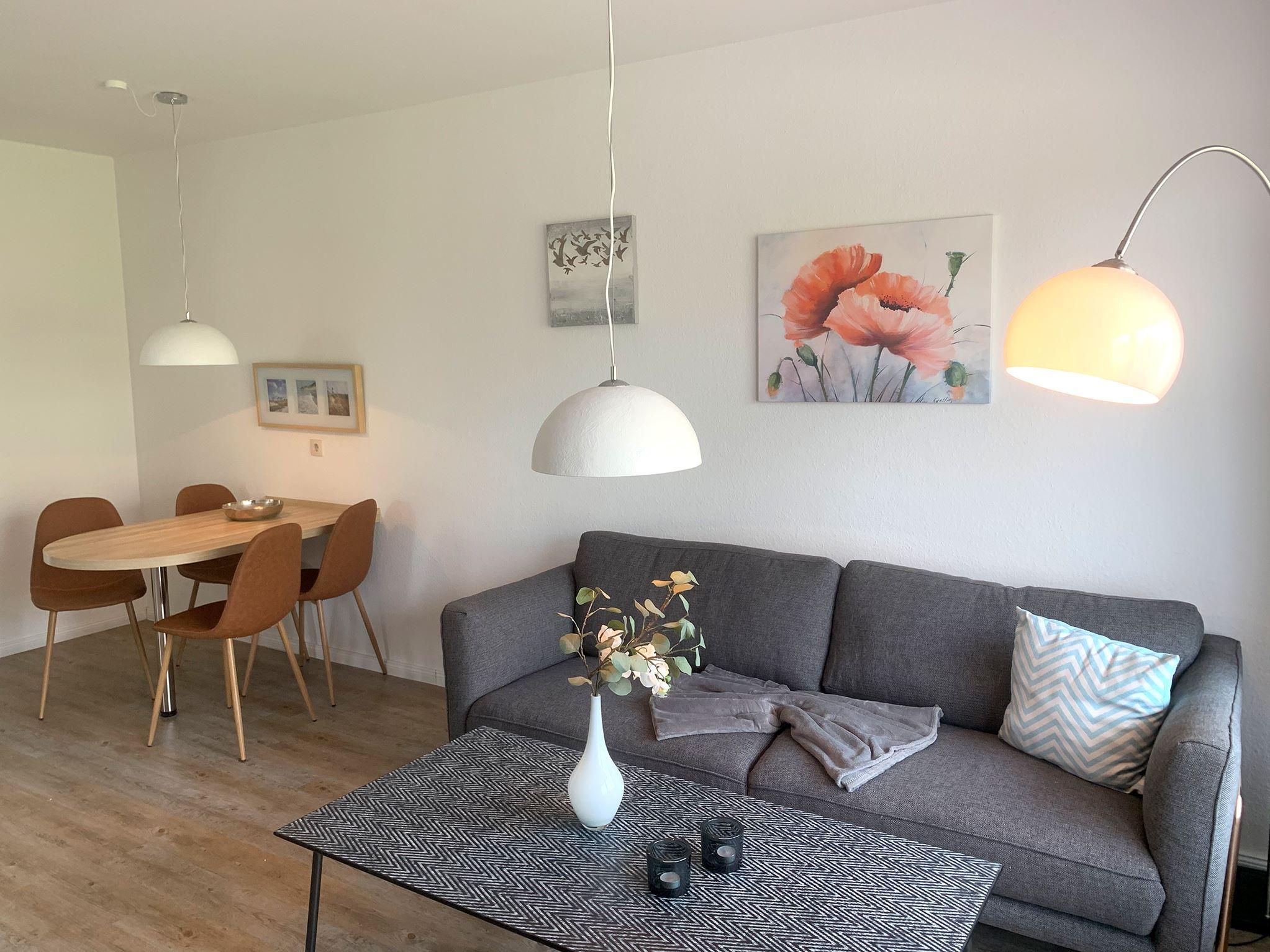 Strandnahes, ruhiges Ferienappartement mit Westterrasse für 2-4 Personen Luna IV Nr. 31