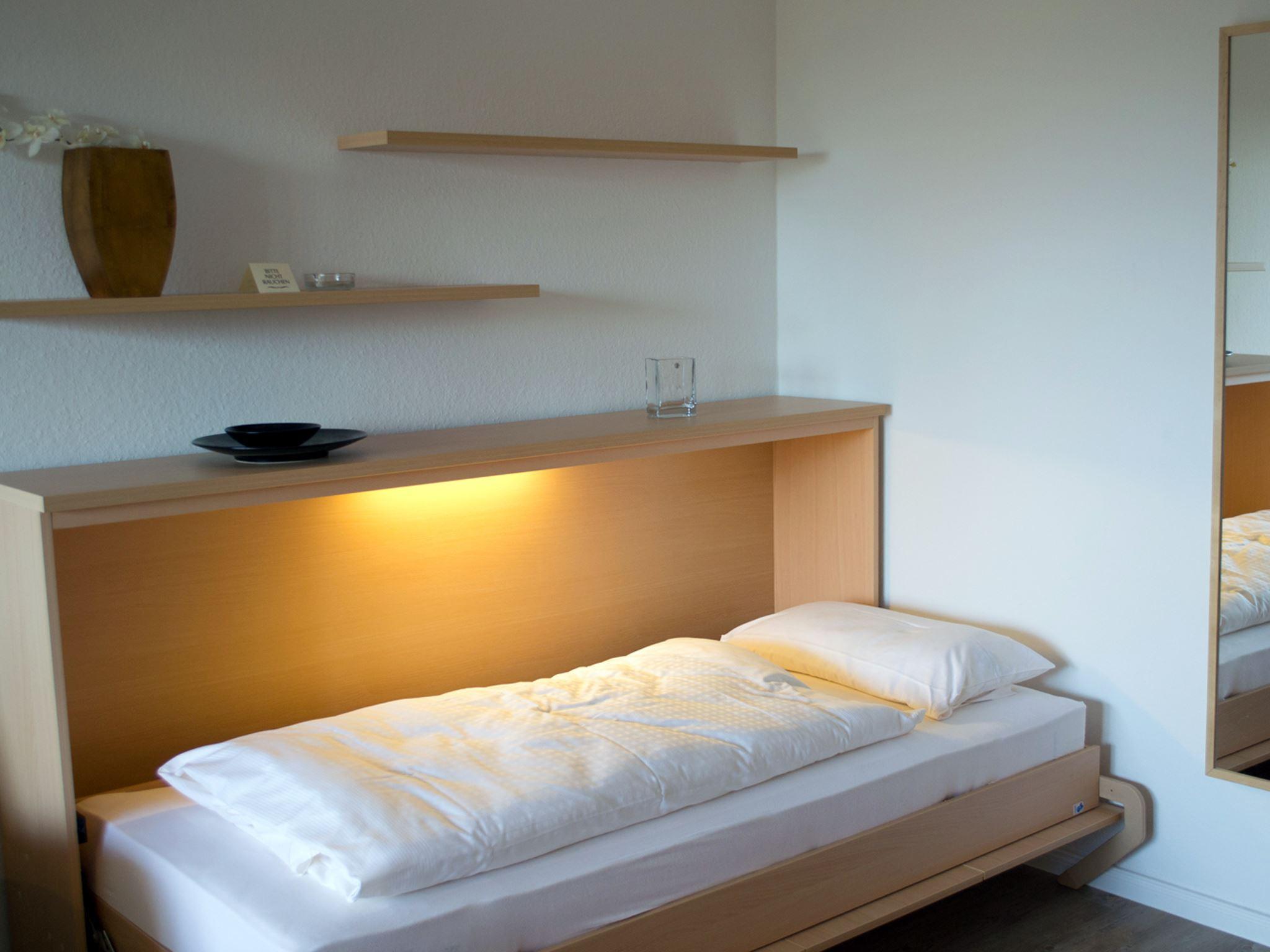 2-3 Personen Ferienappartement in St. Peter-Ording mit Loggia in Strandnähe mit Blick auf den Ordinger Deich Luna IV Nr. 36